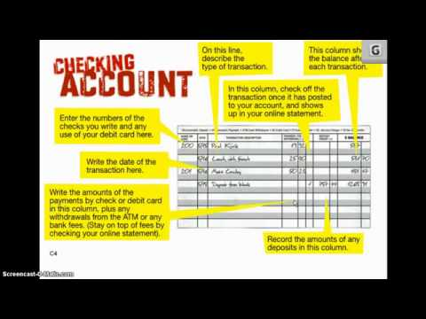 Checking Account Basics In Bank Of America