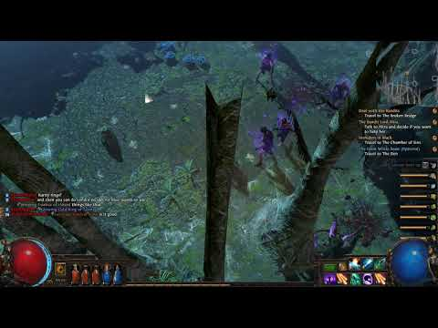Path of Exile The Fall of Oriath Part 13 Western Forest Weaver's Nest Boss