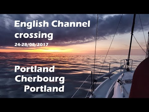 English Channel crossing from Portland to Cherbourg and back.