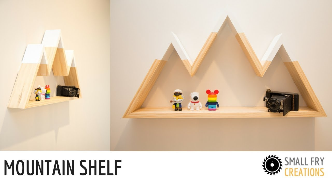 Mountain shelf diy youtube for Mountain shelf diy