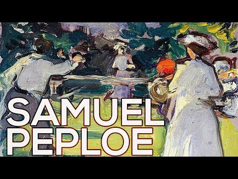 Samuel Peploe: A collection of 270 paintings (HD)