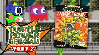TMNT 2: The Arcade Game (NES) - Turtle Power Special! (feat. Jordan) - Episode 2