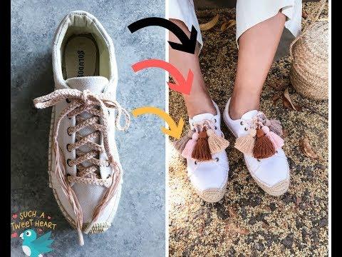 [DIY STUDIO] DIY Tassel Espadrille Sneakers