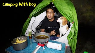 Rain Camping and Cooking with Dog | Camping in India