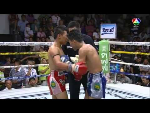 Muay Thai Boxing from Bangkok, Thailand - 2014.03.02 Channel 7 Stadium