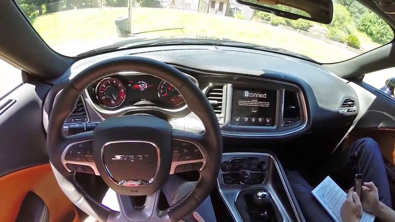 dodge challenger hellcat redeye manual 2015 Dodge Challenger SRT Hellcat Manual POV - YouTube