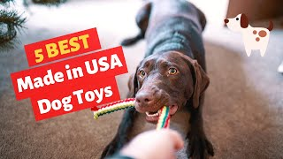 The 5 Best Made in USA Dog Toys in 2020 | Which one is Best among them?