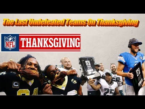 Which NFL Teams Have Never Lost On Thanksgiving?