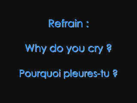 M Pokora - Why do you cry avec les paroles+ traduction