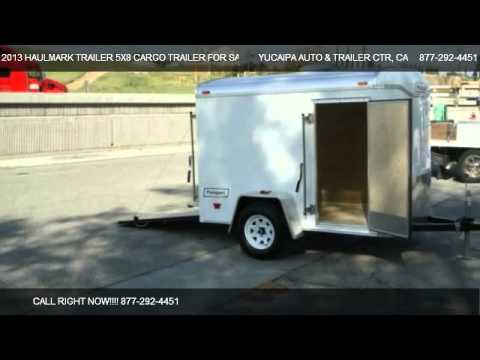 2013 Haulmark Trailer 5x8 Cargo Trailer For Sale For