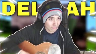 """Quackity Sings """"Hey There Delilah"""" LIVE On Stream! (So Good)"""