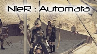 NieR : Automata PC - first (actually second but whatever) look and brief gameplay