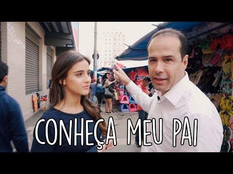 FUI NA 25 DE MARÇO COM MEU PAI RICARDO ELETRO ||  Livia Nunes