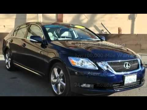 Certified 2010 Lexus GS 460 San Rafael CA 94901 - YouTube