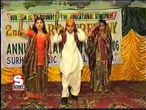 Sindh Culture Song By Surhan Public School Larkana Sindh.flv