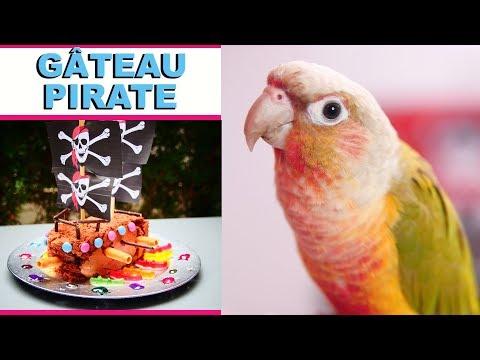 Gâteau Bateau Pirate ♡ Virginie fait sa cuisine [85]