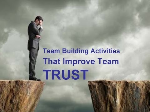 Team Building Activities That Improve Team Trust