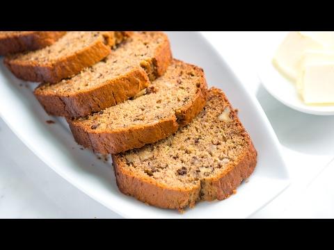 Easy Banana Bread Recipe - How To Make Homemade Banana Bread