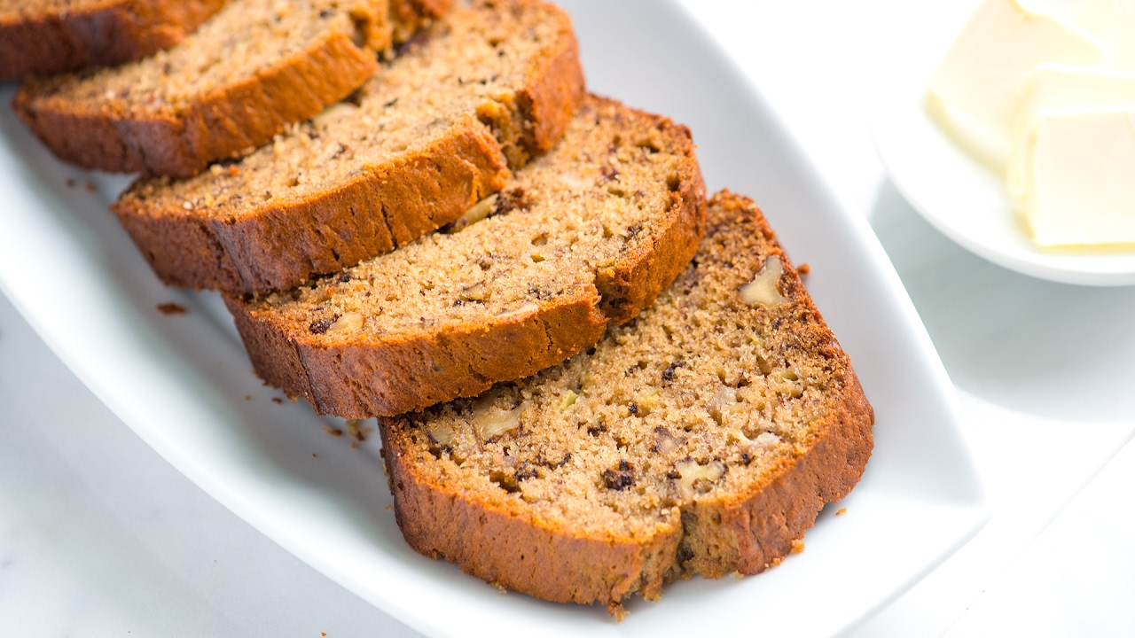 Easy banana bread recipe how to make homemade banana bread youtube easy banana bread recipe how to make homemade banana bread forumfinder Image collections