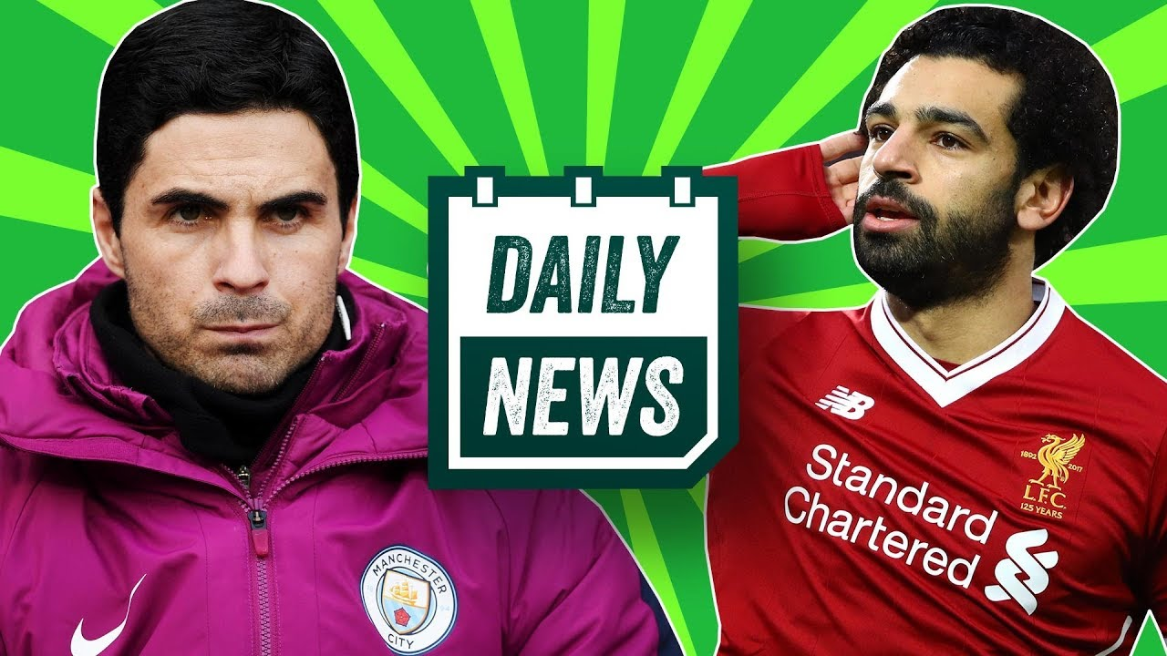 TRANSFER NEWS: Shock new Arsenal manager, Stones to leave Man City + Liverpool vs Roma ► Daily News