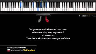 adele hello piano karaoke sing along cover with lyrics