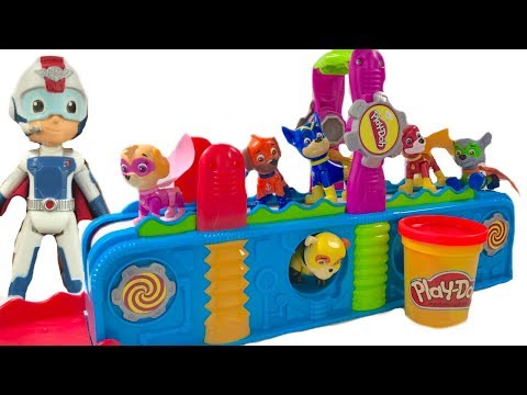 Learn Colors with Paw Patrol Play Doh Mega Fun Factory | Fizzy Fun Toys