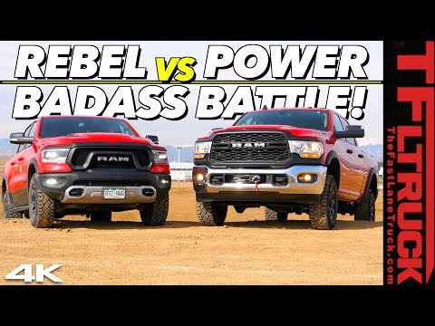 New Ram Rebel vs New Power Wagon: We Put Them Through a Battery Of Tests To Find Which One Is Best!