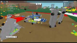 Earthquakes + Moon gravity in Roblox Lumber Tycoon 2