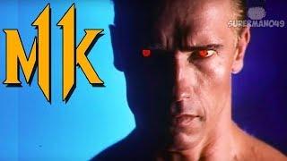 "Even Terminator Gets Angry At Bad Wifi! - Mortal Kombat 11: ""Terminator"" Gameplay"