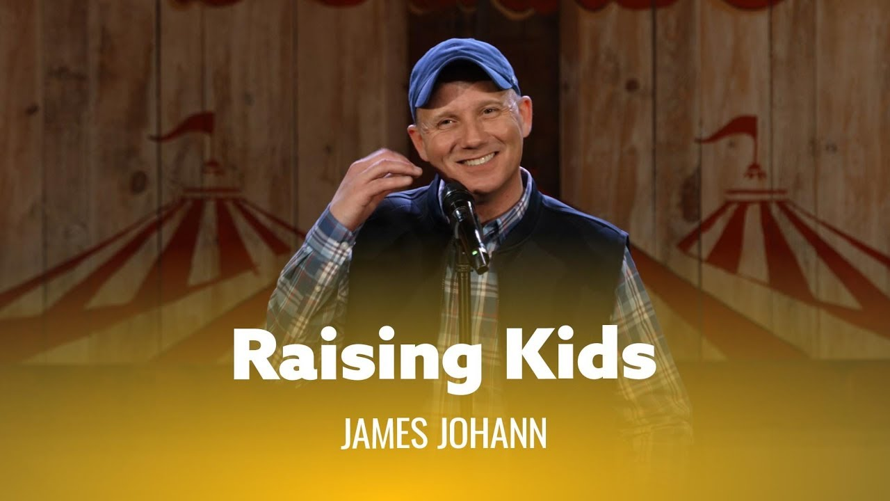 DryBar Comedy Advice For Raising Kids. James Johann