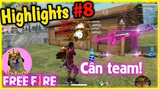 """[Free Fire Highlights] Những pha xử lý tỉnh táo Cân Team gây """"choáng""""   StarBoyVN   #8"""