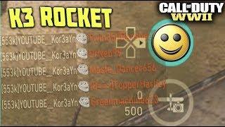 """How To Get The SECRET """"K3 ROCKET"""" SCORESTREAK in Call of Duty: WW2!"""