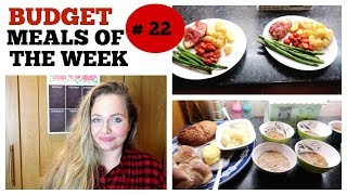 BUDGET MEALS OF THE WEEK #22 / WHAT'S FOR DINNER ? / Weekly family meal ideas