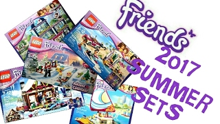 LEGO News: LEGO FRIENDS SUMMER 2017 PICTURES (Heartlake Hospital, Sunshine Catamaran, Snow...)