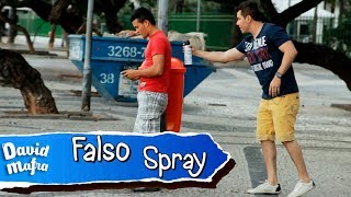 Fake Spray Prank | Falso Spray