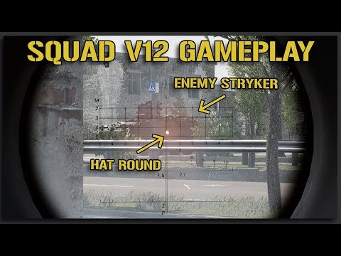 NEW SQUAD V12 RPG Sights (Russian HAT Gameplay) - 40v40 Squad Gameplay