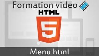 Website Menu CSS HTML Basic