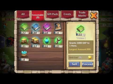 Castle Clash Crest Bags Or Crest Boxes