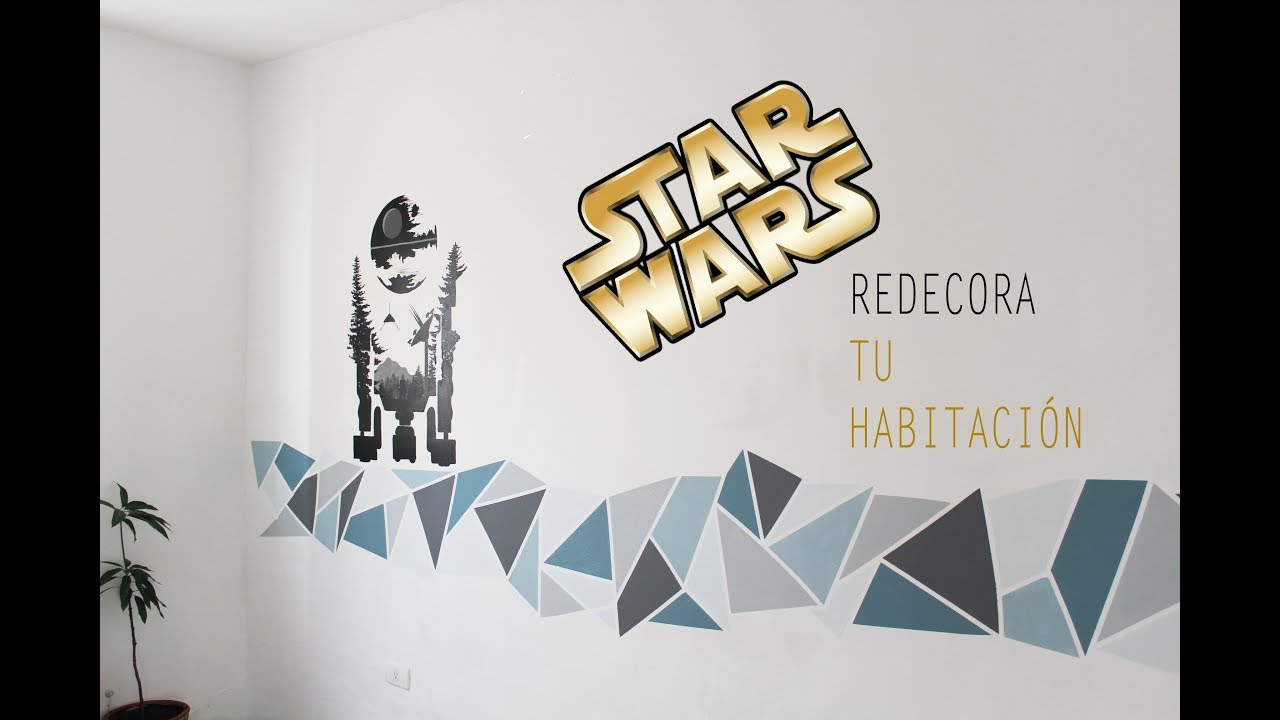 Vinilos Decorativos Star Wars Ideas Para Decorar Tu HabitaciÓn Star Wars Time Laps Painting