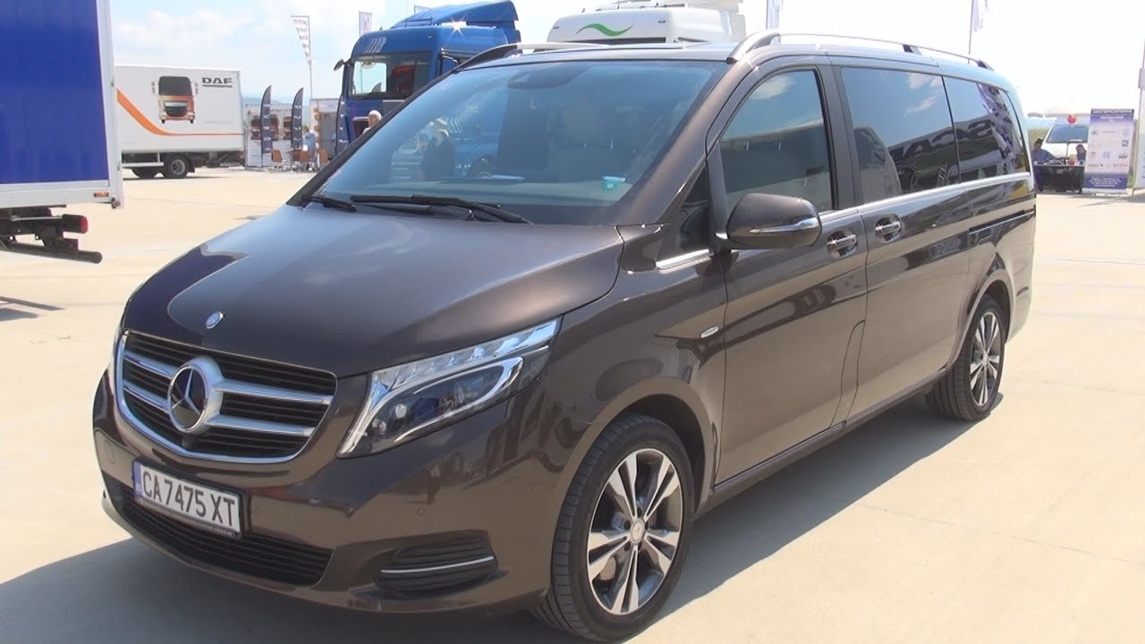 mercedes benz v 250 bluetec 2015 exterior and interior. Black Bedroom Furniture Sets. Home Design Ideas