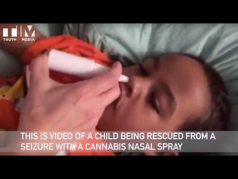 WATCH: Cannatol Rx Cannabis Nasal Spray Stops Childrens' Seizures Within 20 Seconds