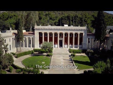 Inside the Gennadius Library