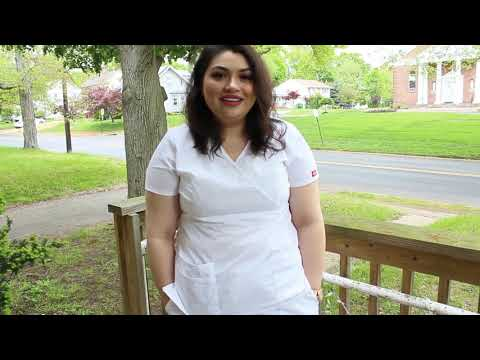 Leslie's nurse pinning ceremony (Middlesex County College)