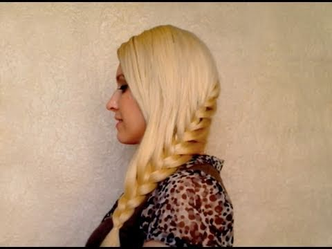 Party Hairstyles For Long Hair Youtube : ... own hair Everyday school hairstyle for long hair party 2012 - YouTube