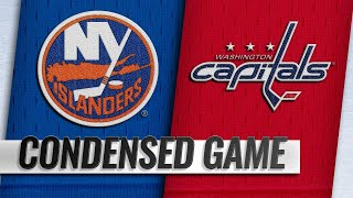 01/18/19 Condensed Game: Islanders @ Capitals