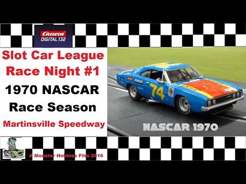 NASCAR 1970 LEAGUE Race 1 Martinsville