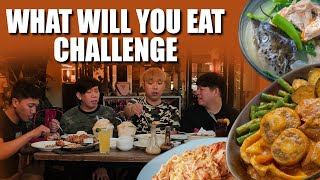 WHAT WILL YOU EAT CHALLENGE with BEKS BATTALION