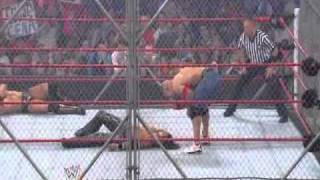 John Morrison vs. John Cena vs. The Miz (WWE Championship Triple Threat Steel Cage Match) Highlights