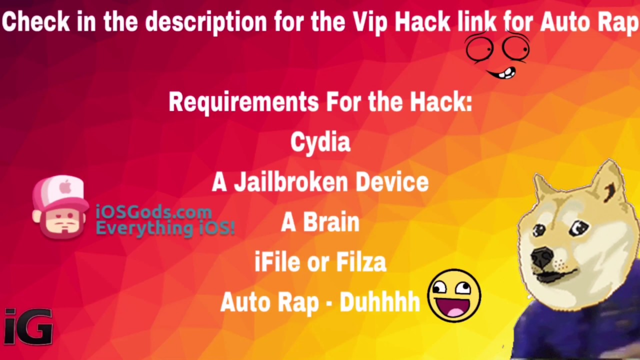 AutoRap Vip Hack [March 2017 Updated] [IOS] with Cydia