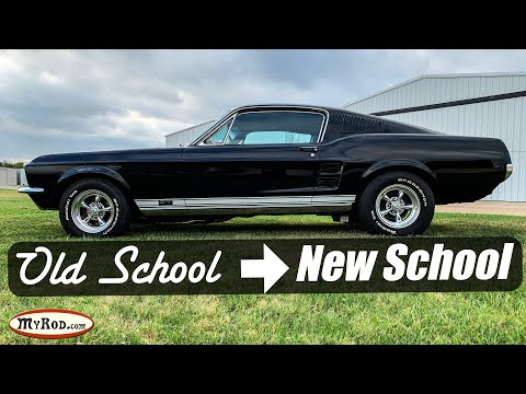 1967 Mustang Fastback Upgrades - Old School To New School